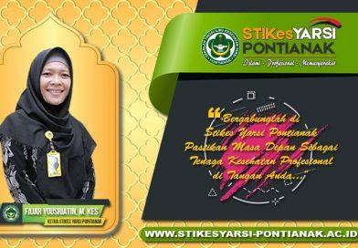 Sambutan Ketua Stikes Yarsi Pontianak