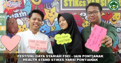 Akfar & STIkes Yarsi Ikut Berkontribusi Dalam Festival Gaya Syariah – FSEI IAIN Pontianak