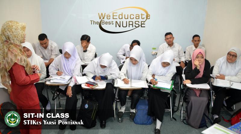 Santri Tahfidz Qur'an International HPAIC Ikuti Program Sit-In Class STIKes Yarsi Pontianak
