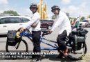 Dua Warga Pontianak Kayuh Sepeda Menuju Baitullah