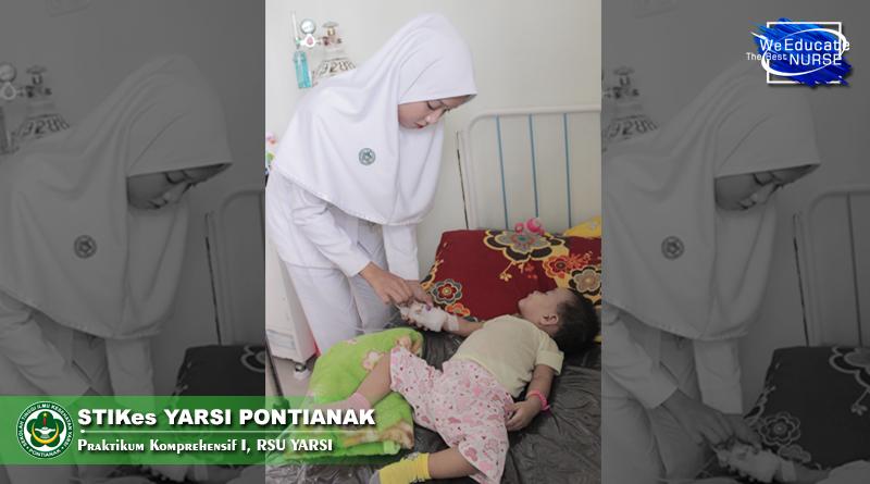 Ratusan Mahasiswa STIKes Yarsi Pontianak Praktikum Di Tiga Rumah Sakit
