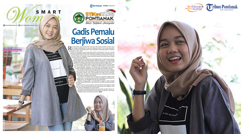 """Rara, Mahasiswi STIKes Yarsi Pontianak ini Berhasil Sandang Gelar """"Putri Etnic & Kebaya Provinsi Kalimantan Barat"""
