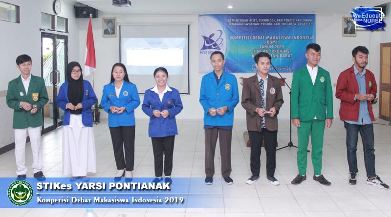 Kompetisi Debat Mahasiswa Indonesia (KDMI) Tingkat Provinsi Kalimantan Barat 2019