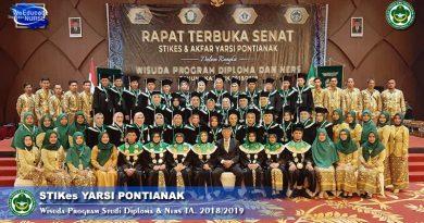 Ini Pesan Gubernur Kalbar Kepada 238 Wisudawan STIKes & Akfar Yarsi Pontianak