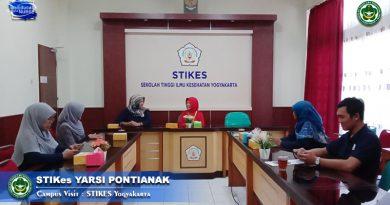 Jalin Silaturahmi dan Cooperation Plan, STIKes Yarsi Pontianak Kunjungi STIKES Yogyakarta