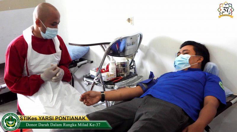 Aksi Sosial Donor Darah Dalam Rangka Milad Ke-37