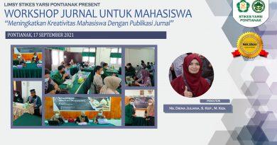 WORKSHOP JURNAL UNTUK MAHASISWA
